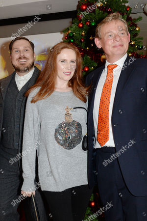 'Nativity 3' Uk Premiere at the Vue Leicester Square Marc Wootton; Catherine Tate and Martin Clunes
