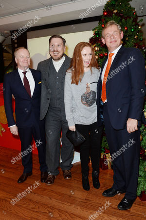 'Nativity 3' Uk Premiere at the Vue Leicester Square Jason Watkins; Marc Wootton; Catherine Tate and Martin Clunes