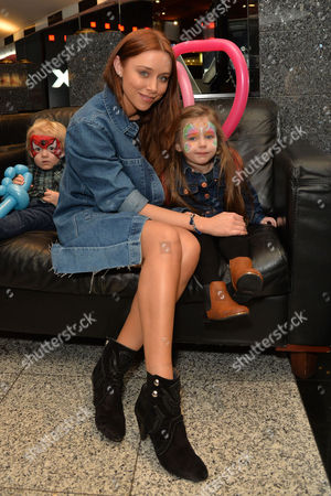 Stock Photo of 'Norm of the North' (out March18th 2016) Vip Screening at the Empire Leicester Square Una Healy with Her Daughter Aoife Belle