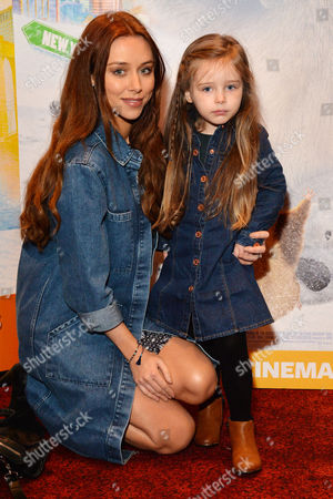 Stock Picture of 'Norm of the North' (out March18th 2016) Vip Screening at the Empire Leicester Square Una Healy with Her Daughter Aoife Belle