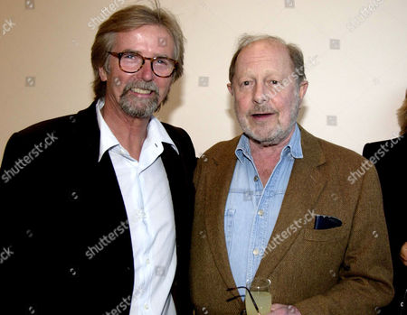 'Notting Hill Cookbook' Book Party at 216 Ladbrook Grove Franc Roddam and Nicolas Roeg