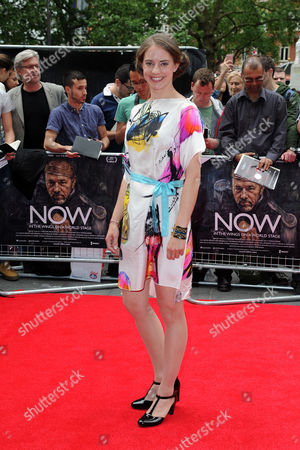 'Now: in the Wings On A World Stage' Uk Premiere at the Empire Leicester Square Katherine Manners