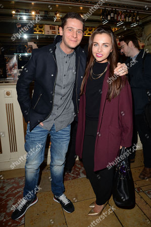 Stock Image of 'Once' Press Night at the Phoenix Theatre Christopher Parker and Louisa Lytton