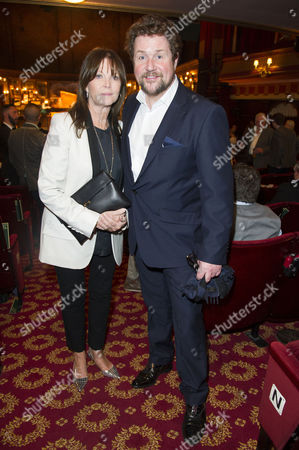 'Once' Vip Gala Night in Aid of Oxfam at the Phoenix Theatre Michael Ball and Cathy Mcgowan