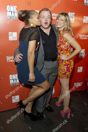 'One Man Two Guvnors' Cast Change Press Night After Party at Mintleaf Angela Griffin Owain Arthur and Kellie Shirley