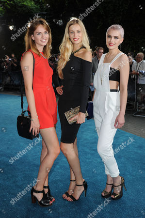 'Pacific Rim' European Premiere at the Bfi Imax Waterloo Uk & Ireland Next Top Model Contestants - Sophie Ellson Naomi Pelkiewicz and Emily Garner