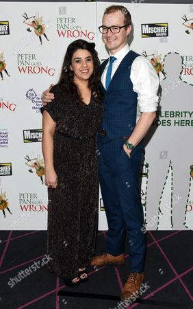 'Peter Pan Goes Wrong' Press Night Afterparty at the Rah Rah Club Piccadilly Nancy Wallinger and Greg Tannahill
