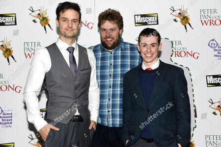 'Peter Pan Goes Wrong' Press Night Afterparty at the Rah Rah Club Piccadilly Henry Shields Henry Lewis and Jonathan Sayer