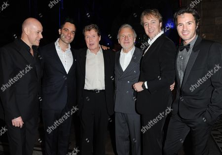 'Phantom of the Opera' 25th Anniversary Afterparty at the Natural History Museum Anthony Warlow Ramin Karimloo Michael Crawford Colm Wilkinson John Owen-jones and Peter Joback (all Have Played Phantom)