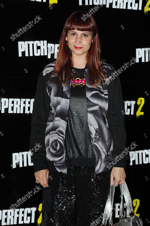 Stock Image of 'Pitch Perfect 2' Screening at the Mayfair Hotel Rebekah Roy