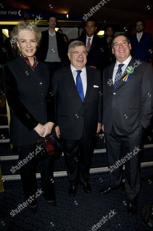 'Plot For Peace' Screening at the Curzon Mayfair Princess Michael of Kent Jean-yves Ollivier and Ivor Ichikowitz