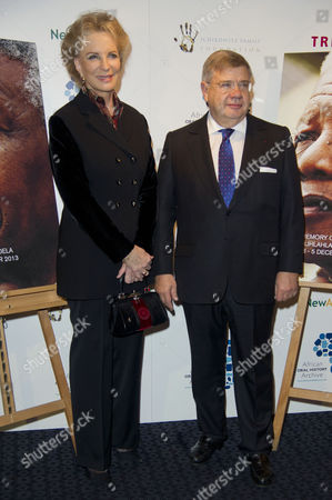 'Plot For Peace' Screening at the Curzon Mayfair Princess Michael of Kent and Jean-yves Ollivier