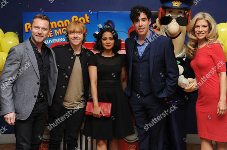 Stock Picture of 'Postman Pat' World Premiere at the Odeon Westend Ronan Keating Rupert Grint Parminder Nagra Stephen Mangan and Susan Duerden
