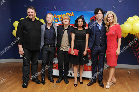 'Postman Pat' World Premiere at the Odeon Westend Director Mike Disa Ronan Keating Rupert Grint Parminder Nagra Stephen Mangan and Susan Duerden