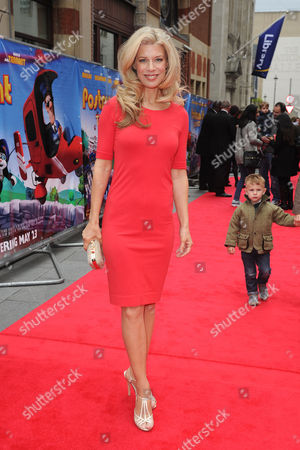 Stock Image of 'Postman Pat' World Premiere at the Odeon Westend Susan Duerden