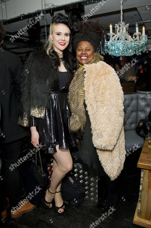 'Powder Room' Premiere Afterparty at Ink London Supported by Crystal Head Vodka Kate Nash and Johnnie Fiori