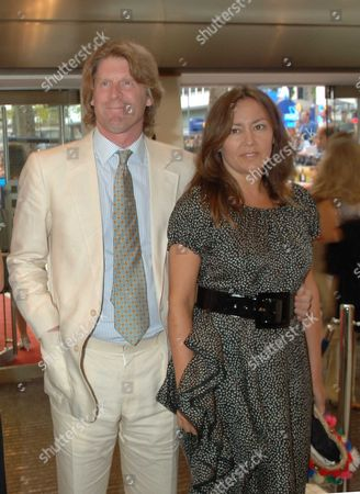The Uk Charity Premiere of 'Pride and Prejudice' at the Odeon Leicester Square Mark Getty with His Wife