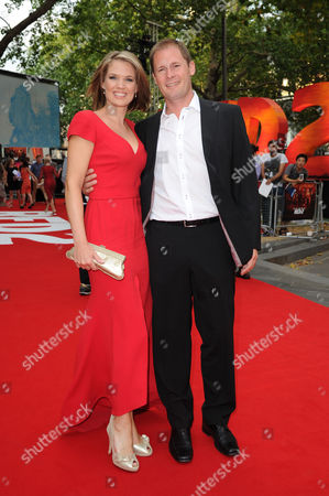 'Red 2' Premiere at the Empire Leicester Square Charlotte Hawkins with Her Husband Mark Herbert