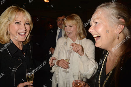 'Relatively Speaking' Press Night at Wyndham's Theatre Charing Cross Road Felicity Kendal Susan Hampshire and Anna Carteret