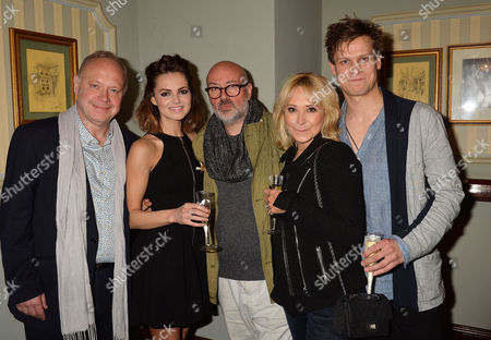 'Relatively Speaking' Press Night at Wyndham's Theatre Charing Cross Road Jonathan Coy Kara Tointon Lindsay Posner (director) Felicity Kendal and Max Bennett