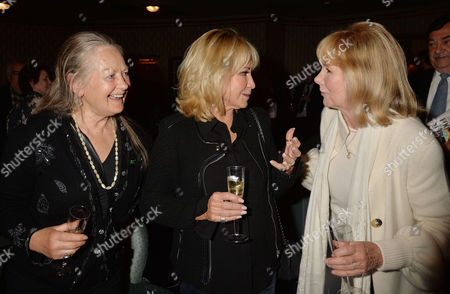 'Relatively Speaking' Press Night at Wyndham's Theatre Charing Cross Road Anna Carteret Felicity Kendal and Susan Hampshire