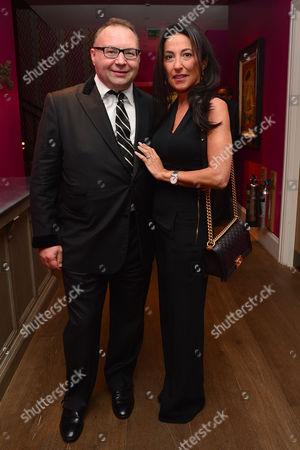 'Ricki and the Flash' Screening at the Ham Yard Hotel Jonathan Shalit and His Wife Katrina Sedley