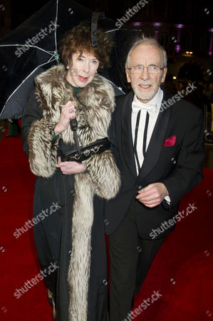 'Run For Your Wife' World Premiere at the Odeon Leicester Square Andrew Sachs with His Wife Melody Lang