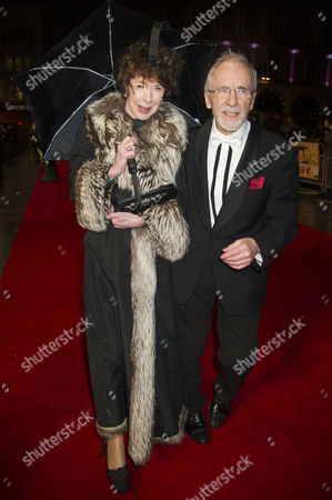 Stock Picture of 'Run For Your Wife' World Premiere at the Odeon Leicester Square Andrew Sachs with His Wife Melody Lang