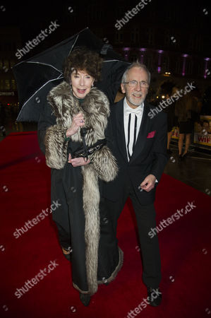 Stock Photo of 'Run For Your Wife' World Premiere at the Odeon Leicester Square Andrew Sachs with His Wife Melody Lang