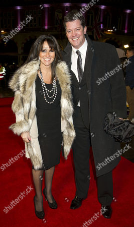 'Run For Your Wife' World Premiere at the Odeon Leicester Square Linda Lusardi with Her Husband Samuel Kane