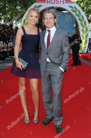 'Rush' World Premiere at the Odeon Leicester Square Tom Hunt (son of James Hunt)