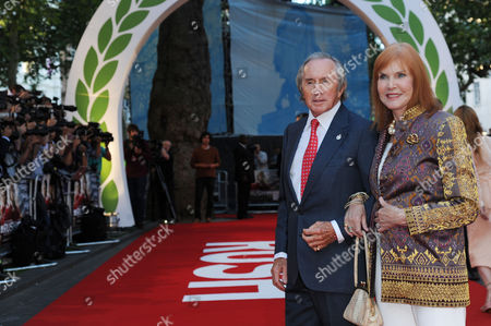 'Rush' World Premiere at the Odeon Leicester Square Sir Jackie and Lady Helen Stewart