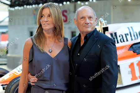 'Rush' World Premiere at the Odeon Leicester Square Ron Dennis with His Girlfriend Carol Weatherall