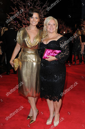 'Saving Mr Banks' Red Carpet at the Odeon Leicester During the Bfi London Film Festival 2013 Alison Owen with Her Daughter Sarah Owen