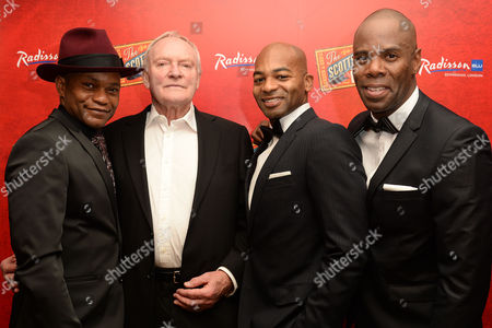 'Scottsboro Boys' Press Night at the Garrick Theatre and Afterparty at the Radisson Leicester Square Forrest Mcclendon Julian Glover Brandon Victor Dixon and Colman Domingo