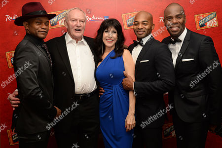 'Scottsboro Boys' Press Night at the Garrick Theatre and Afterparty at the Radisson Leicester Square Forrest Mcclendon Julian Glover Catherine Schreiber Brandon Victor Dixon and Colman Domingo