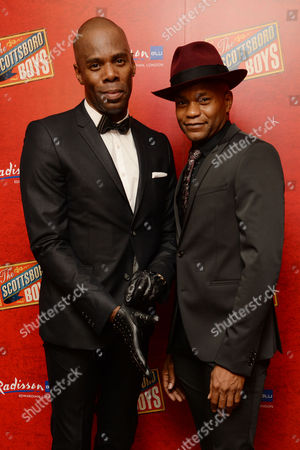 'Scottsboro Boys' Press Night at the Garrick Theatre and Afterparty at the Radisson Leicester Square Colman Domingo and Forrest Mcclendon