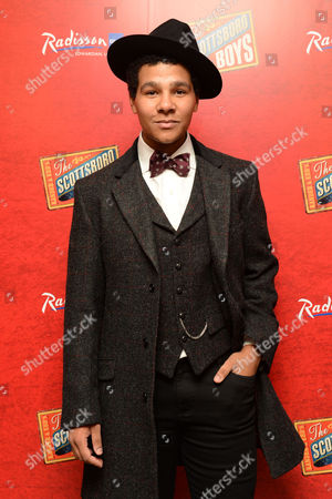 'Scottsboro Boys' Press Night at the Garrick Theatre and Afterparty at the Radisson Leicester Square Emile Ruddock