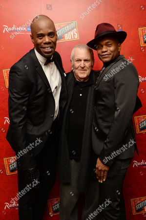 'Scottsboro Boys' Press Night at the Garrick Theatre and Afterparty at the Radisson Leicester Square Colman Domingo John Kander and Forrest Mcclendon