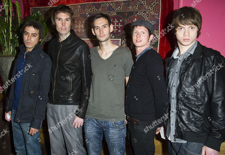 'Screwed' Uk Premiere at the Soho Hotel Exile Parade - Daniel Lomax Phil Hennessey Chris Owen Dave Hennessey and Gary Mutch
