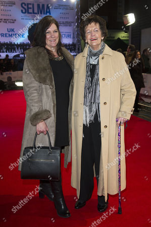 'Selma' European Premiere at the Curzon Mayfair Philomena Lee with Her Daughter Jane