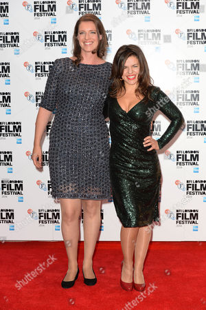 'Silent Storm' Premiere at the Vue Leicester Square During the Bfi London Film Festival 2014 Nicky Bentham and Corinna Mcfarlane