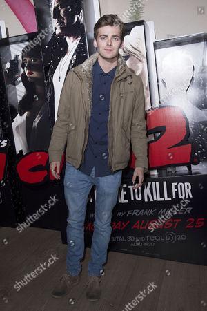 'Sin City 2' Screening at the Ham Yard Hotel Piccadilly Thomas Law (eastenders)