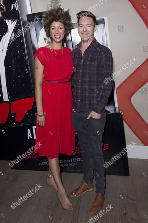 Stock Image of 'Sin City 2' Screening at the Ham Yard Hotel Piccadilly Andy Moss and Danielle Senior