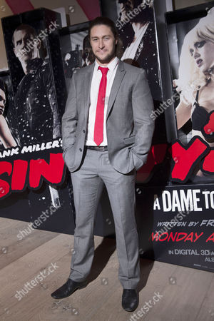 'Sin City 2' Screening at the Ham Yard Hotel Piccadilly Tony Discipline (eastenders)