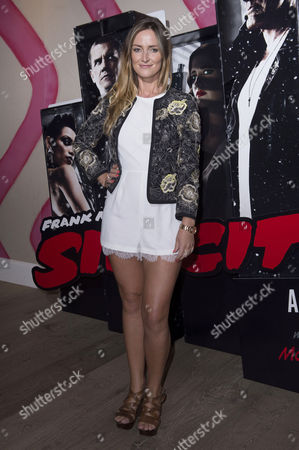 'Sin City 2' Screening at the Ham Yard Hotel Piccadilly Francesca Newman-young (made in Chelsea)