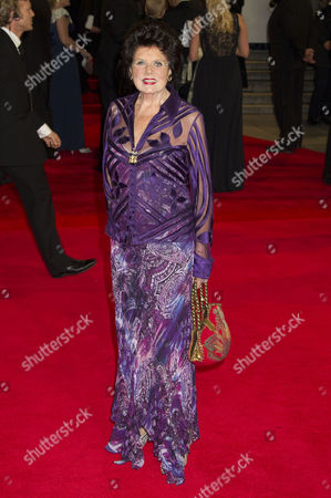 'Skyfall' Uk Royal Premiere Outside Arrivals at the Royal Opera House Eunice Gayson