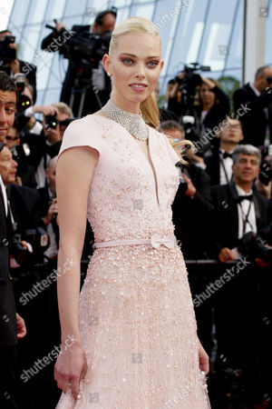 Opening Day Gala and 'Standing Tall' Screening at the Palais Des Festivals During the 68th Cannes Film Festival Tanya Dziahileva