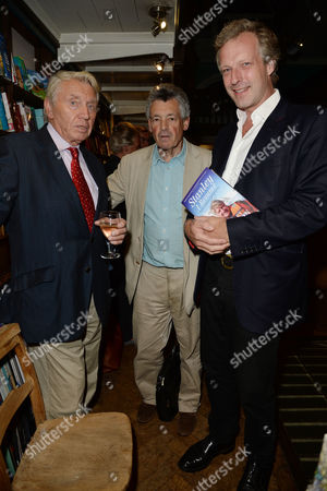 'Stanley I Resume' Book Launch Party at Daunt Books Marylebone High Street Don Mccullin and Hugo Burnand