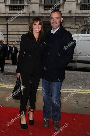 'Summer in February' London Gala Screening Curzon Mayfair Carol Vorderman with Her Boyfriend Graham Duff